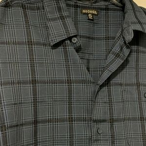George Shirts - Short Sleeve Light Weight Button Up